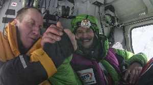 Адам Белецкий и Денис Урубко  - спасработы на Нангапарбат, 28 января 2018 года