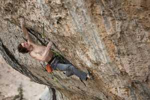 Адам Ондра открывает сложнейший маршрут