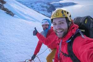 Семь новых маршрутов открыли в Норвегии альпинисты из Франции и Британии