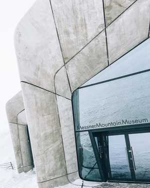 Музей Месснера на вершине Кронплатца. Фото proalps . ru