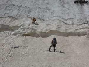 Как выжить в ледовой трещине