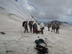 Травматический шок в условиях высокогорья