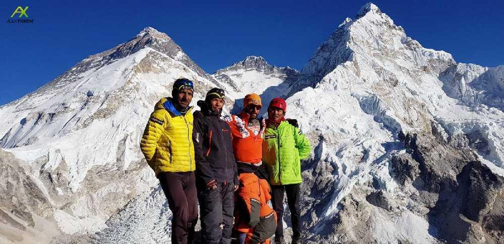 Зимняя экспедиция  Алекса Тикона (Alex Txikon) на Эверест. Февраль 2018 года. Фото Alex Txikon