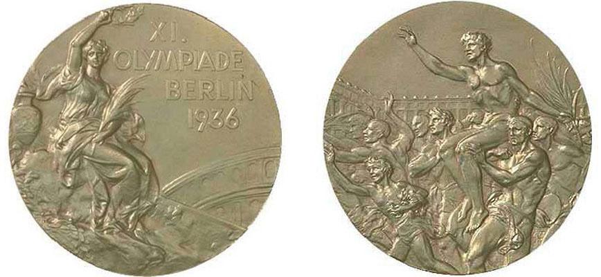 Золотые медали Олимпийских Игр 1936 года в Берлине