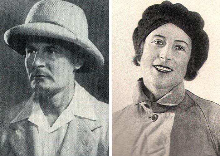 Диренфурт Гюнтер Отто (Günther Oskar Dyhrenfurth) и Хетти Диренфурт (Hettie Dyhrenfurth)