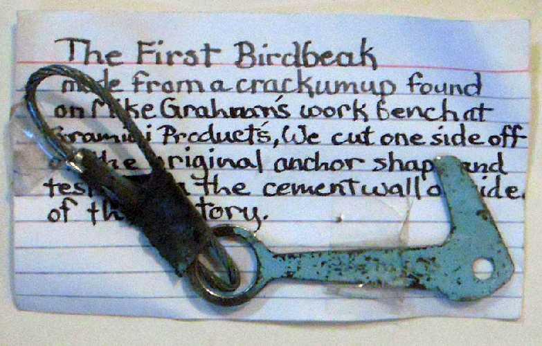Первый скальный крюк авторства Джима Бридвела. Фото yosemiteclimbing . org