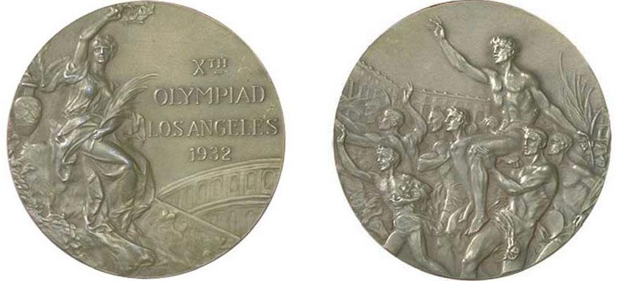 Золотые медали Олимпийских Игр 1932 года в Лос-Анжелесе