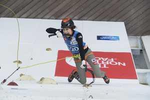 В российском городе Киров проходит чемпионат Европы и финал Кубка мира по ледолазанию. От Украины выступает 1 спортсменка