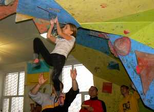 В Краматорске пройдет юношеский чемпионат Донецкой области по скалолазанию в дисциплине боулдеринг