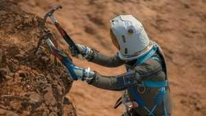 Скалолазание на Марсе: симуляция