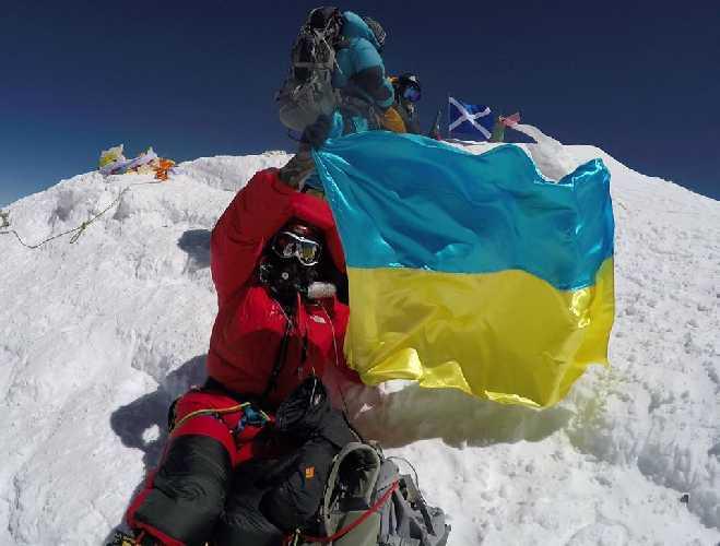 Сергей Кищенко на Эвересте. 19 мая 2016 года