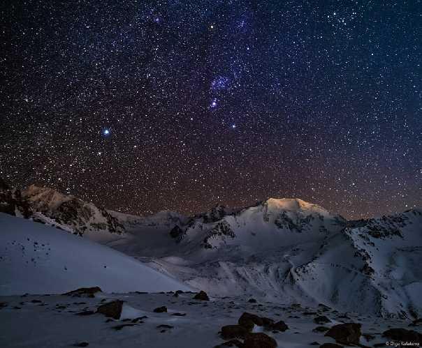 Поход за созвездием Ориона. Фото Ольга Кулакова