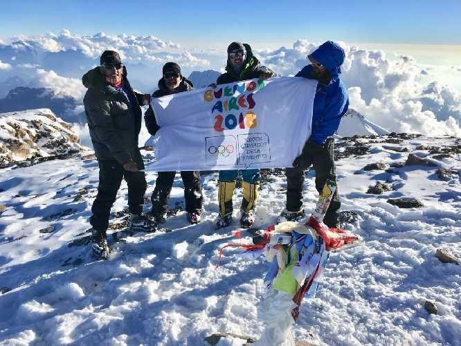 первая социально-значимая экспедиция на вершину Аконкагуа.