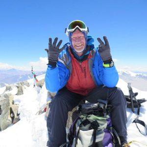 Британский альпинист Дэвид Хемилтон стал лишь седьмым человеком в мире, кто смог пройти задачи «Семь вулканов» и «Семь вершин»