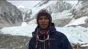 Первое видео из базового лагеря Эвереста от Тараса Поздния - участника украинской экспедиции