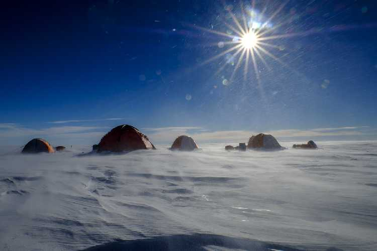 Французская экспедиция в Антарктиду. Фото GMHM
