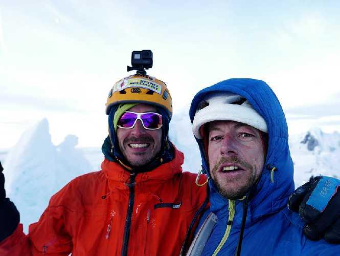 Маттео Делла Борделла (Matteo Della Bordella) и Сильван Шупбах (Silvan Schüpbach)