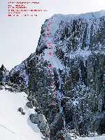 Маттео Делла Борделла (Matteo Della Bordella) и Сильван Шупбах (Silvan Schüpbach) в экспедиции к патагонской вершине Серро Ризо Патрон Южная (Sud Cerro Riso Patron, 2350м). Фото Matteo Della Bordella