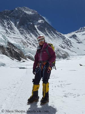 Майя Шерпа (Maya Sherpa). Фото Maya Sherpa