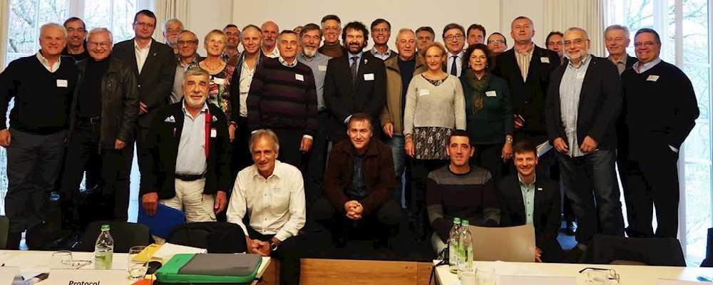 Заседание Европейской ассоциации альпинизма (European Union of Mountaineering Associations   / EUMA), 23 ноября 2017 года, Мюнхен (фото DAV)