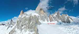 Новый немецкий маршрут на вершину Валь Бионис в Патагонии