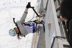 В Харькове состоялся Чемпионат Украины по ледолазанию