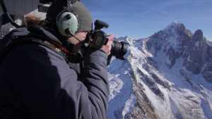 Ледник Мер-де-Глас в таймлапсе длинной в 100 лет