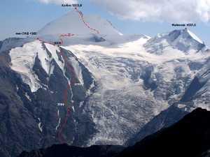 На Казбеке погиб альпинист из Бельгии