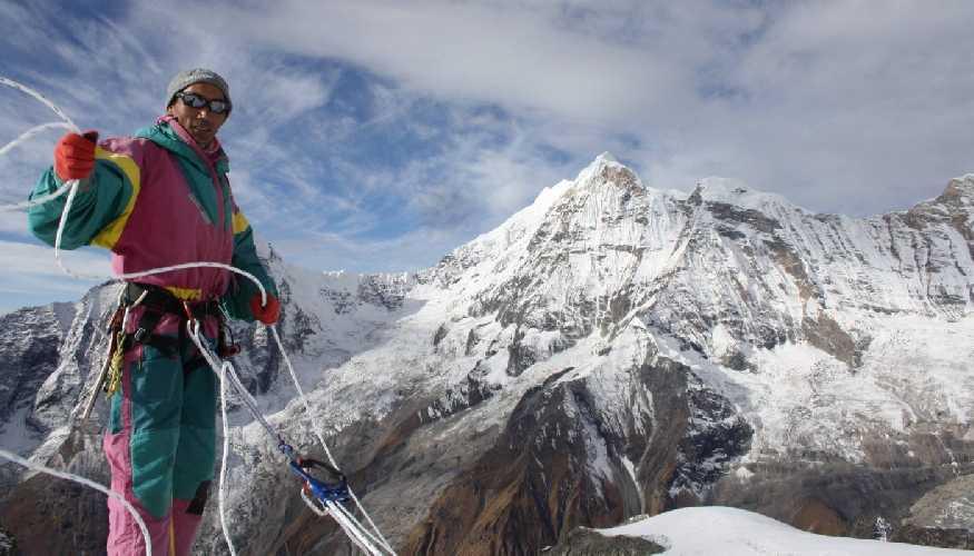 Ками Рита (Kami Rita Sherpa) в 2015 году. Фото Outside Magazine