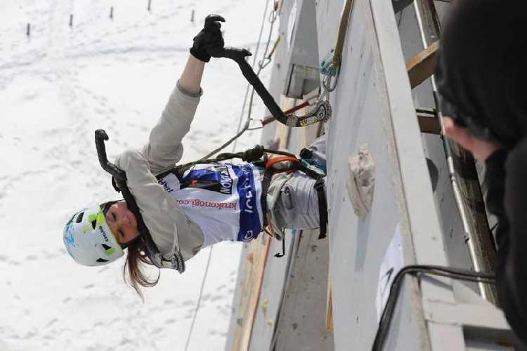 Чемпионат Украины по ледолазанию 2018 в Харькове. Фото alpclub . com . ua