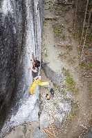 """Сати Амма (Sachi Amma) на маршруте """"Soul Mate"""" 9b. Фото maechan82kgclimber"""