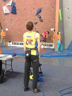 О итогах выступления украинских скалолазов на первом этапе молодёжного Кубка Европы