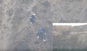 В одном из карьеров Кривого Рога сорвались два туриста
