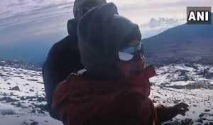 Еще один семилетний ребенок поднялся на вершину Килиманджаро