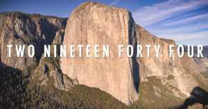 Видео рекорда скоростного восхождения на Эль-Капитан от Брэда Гобрайта и Джима Рейнольдса