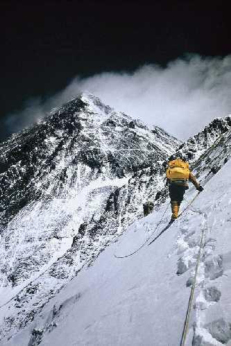 Восхождение на Эверест. Фото Barry Bishop / National Geographic