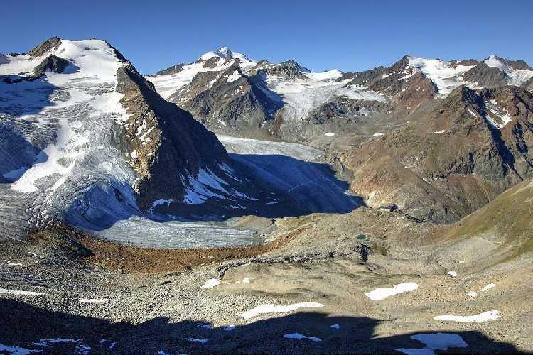 Вильдшпитце (Wildspitze). Фото alpina . guide