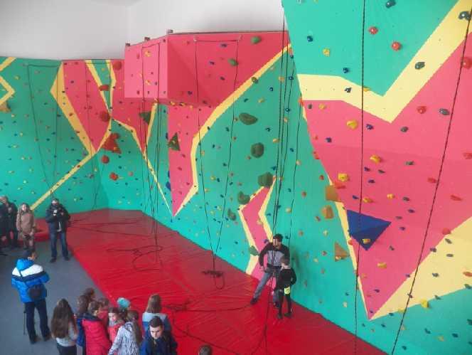 Новый скалодром в Каменце. Фото vdalo . info