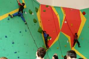 В Каменце-Подольском состоялся юношеский чемпионат Хмельницкой области по скалолазанию  «Весенний Каменец 2018»