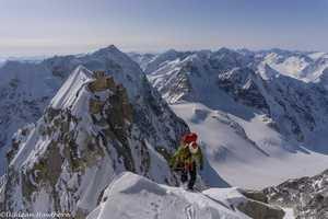 Новый британский маршрут на вершину аляскинской горы Иезавель