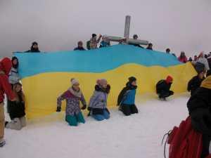 Более 500 туристов совершили массовое восхождение на Говерлу
