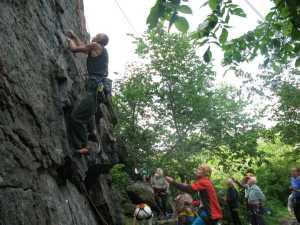 Чемпионат Киева по скалолазанию среди ветеранов пройдет на скалах Житомирской области