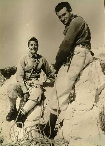 Соня Ливано (Sonia Livanos) и  Жорж Ливано (Georges Livanos) из архива Georges Livanos