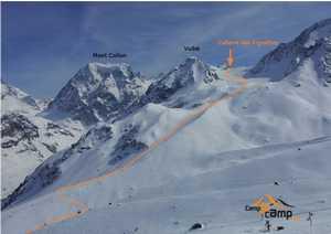 Четыре туриста погибли и пять получили травмы проведя холодную ночёвку в Швейцарских Альпах
