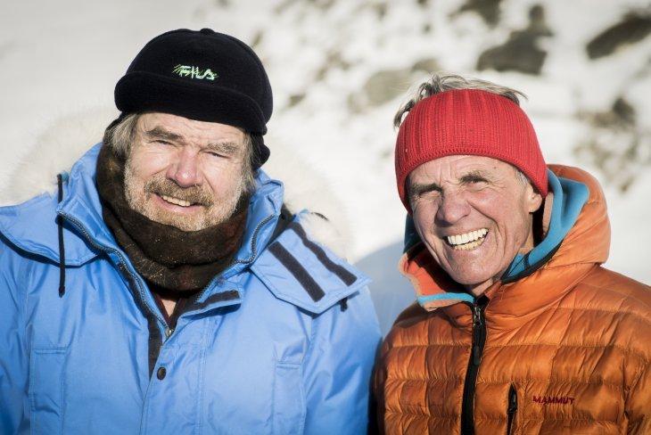 Райнхольд Месснер (Reinhold Messner) и Петер Хабелер (Peter Habeler). Фото ispo . com