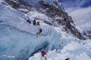 Время штурма украинских альпинистов в Гималайских экспедициях