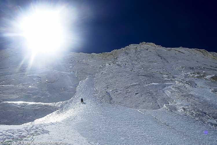 восхождение по северной стене Чангабанг (Changabang, 6864 м). Фото GMHM