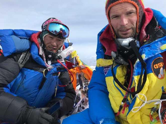 Тараса Поздний на Эвересте. Фото Тарас Поздний