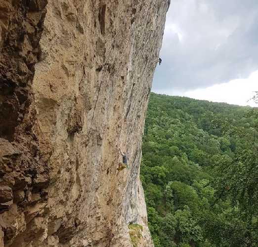 """Адам Ондра (Adam Ondra) на маршруте 9а+ """"Stone Butterfly"""". Фото Adam Ondra"""