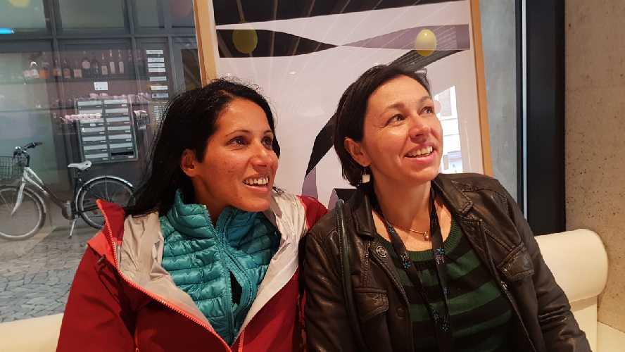 Назим Эскви (Nasim Eshqi) и Франческа Боргетти (Francesca Borghetti)